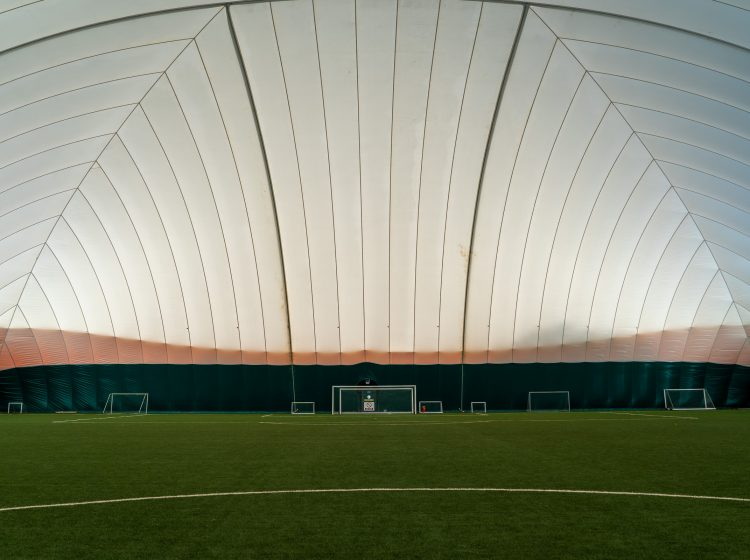 ASB-McM Watford FC Training Ground Air Down Indoor Astroturf Coconut infill pitch