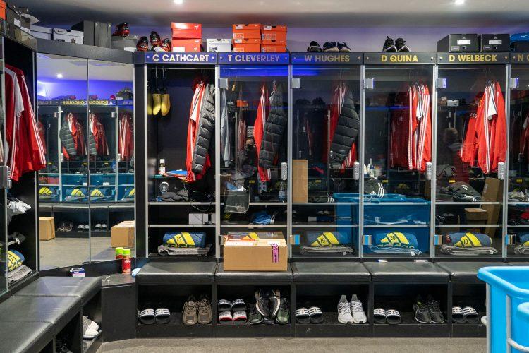 Watford FC Training Ground Changing Room