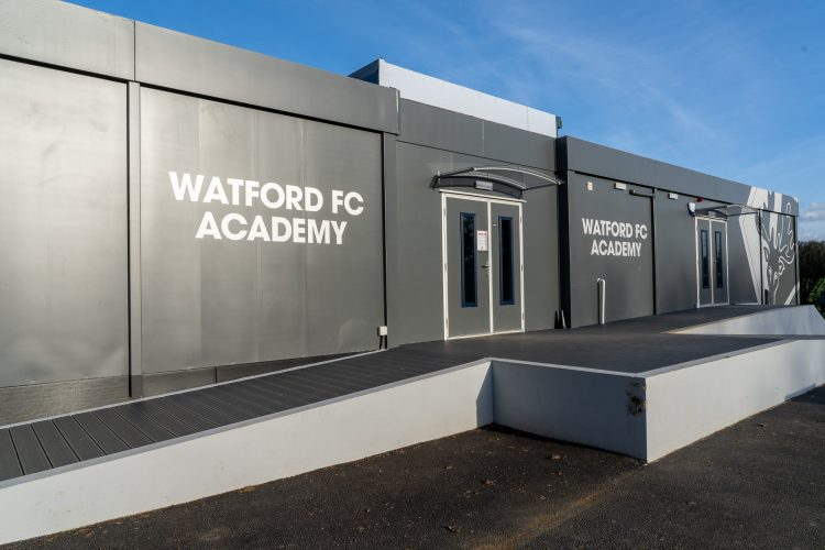 ASB-McM Constructions Watford FC Academy Cabin Build