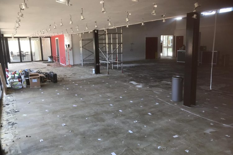 Watford FC Training Ground Players Dining Area and Lounge Refurbishment